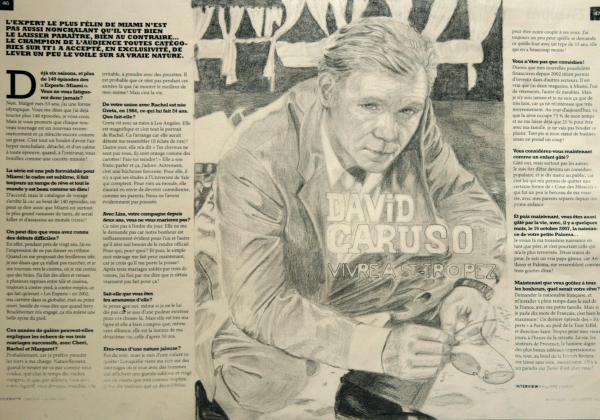 David Caruso by Pepers